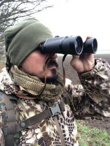 Auf der Jagd...