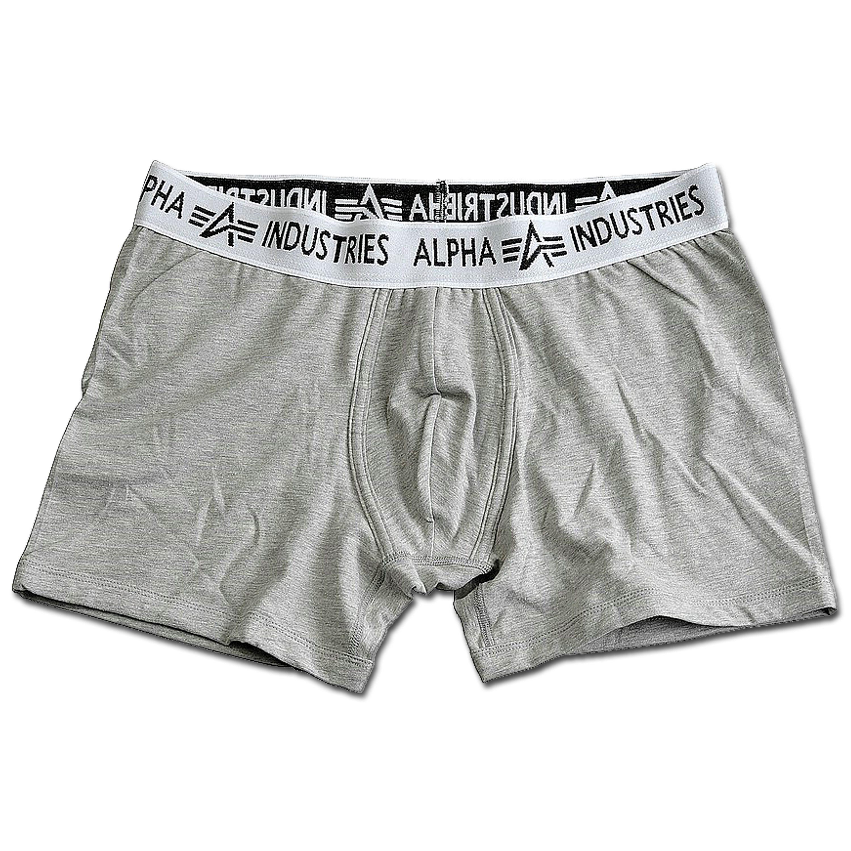Boxer Shorts Alpha Industries grau