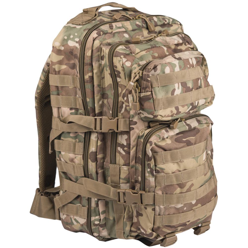 Rucksack US Assault Pack II multitarn