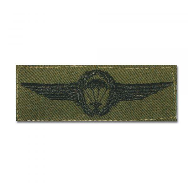 Abz. BW Fallschirmspringer schwarz/oliv