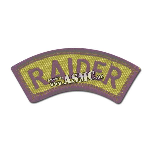 Armabzeichen US RAIDER oliv/schwarz