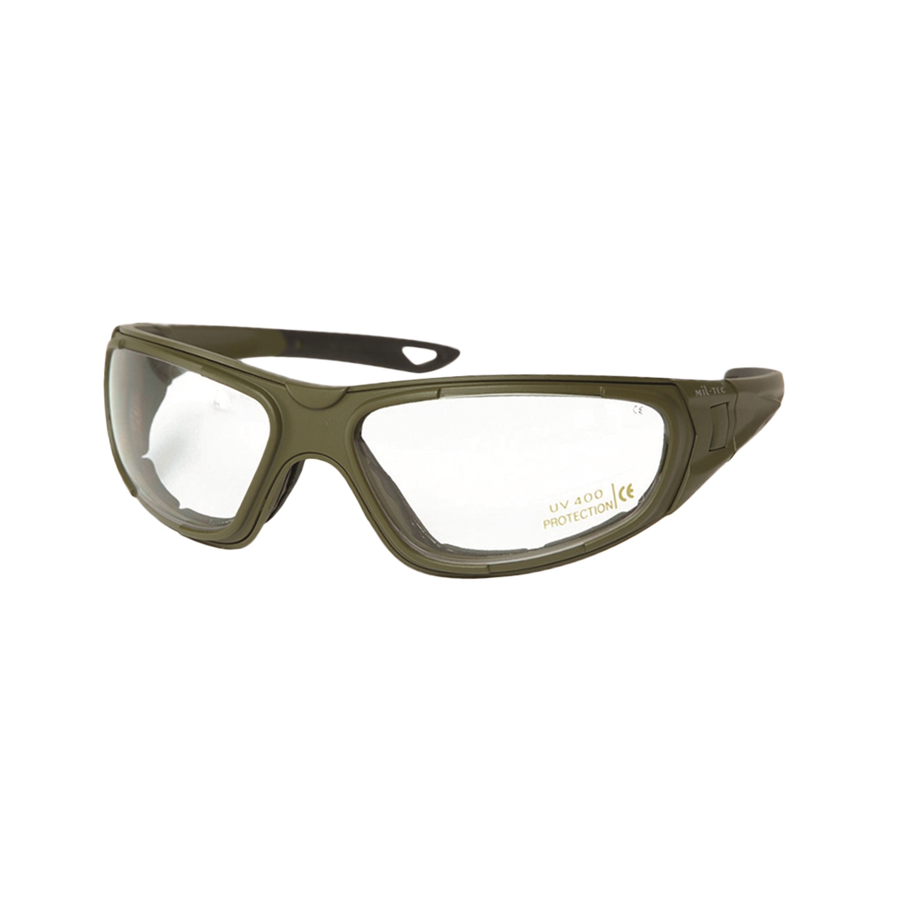 Brille Tactical Goggle 3in1 oliv