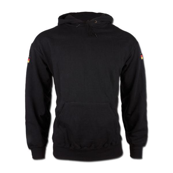 Hood Sweatshirt Germany schwarz