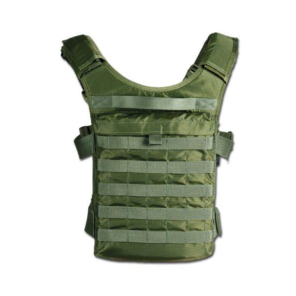 TT Paratrooper Back Plate oliv