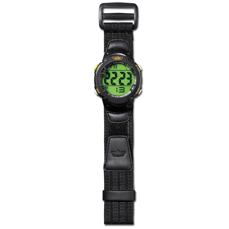 Uhr digital UZI Guardian Nylonband