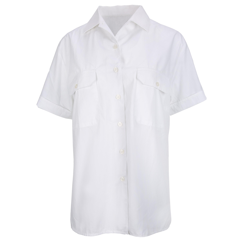 BW Diensthemd Damen Kurzarm weiß gebraucht