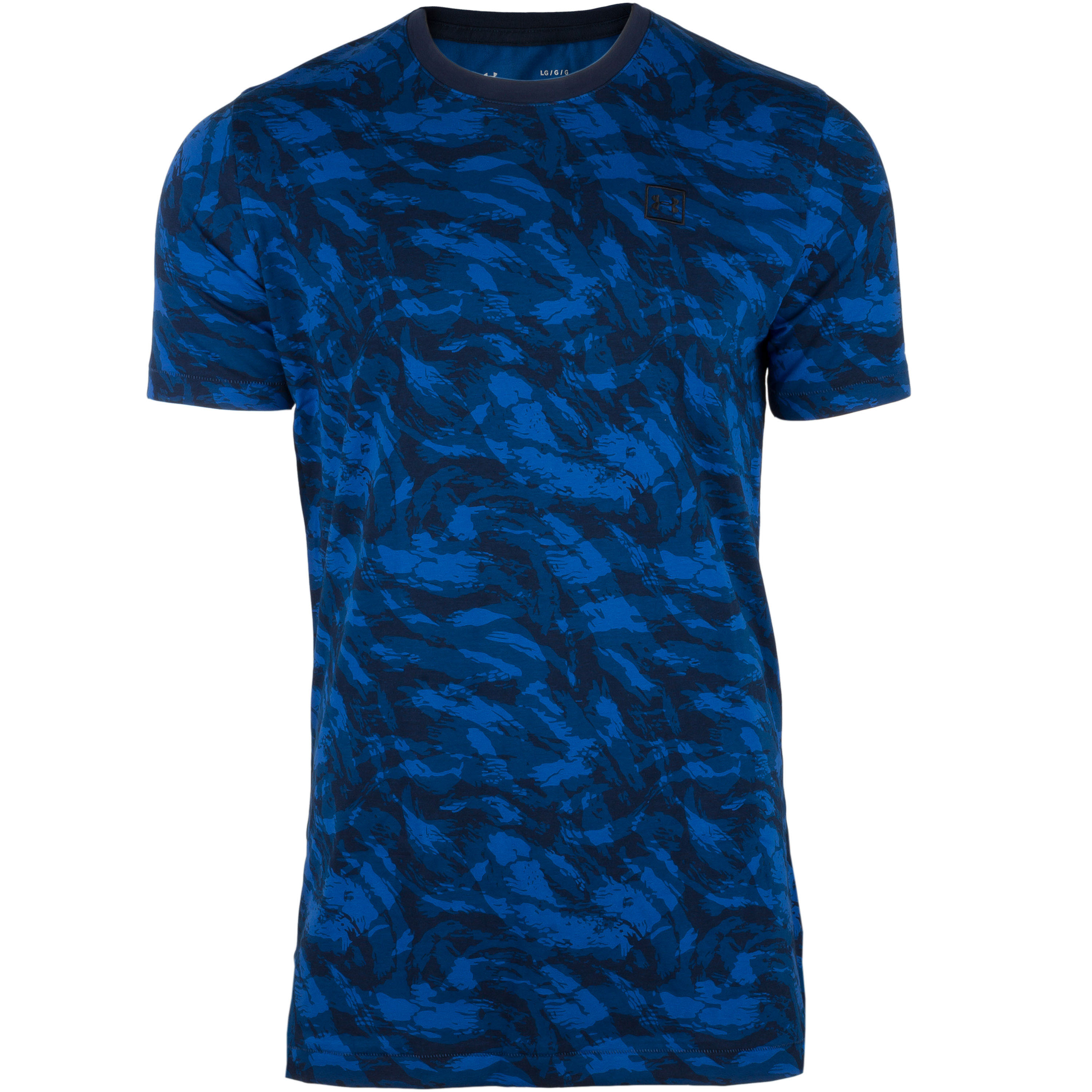 Under Armour Shirt AOP Sportstyle blau
