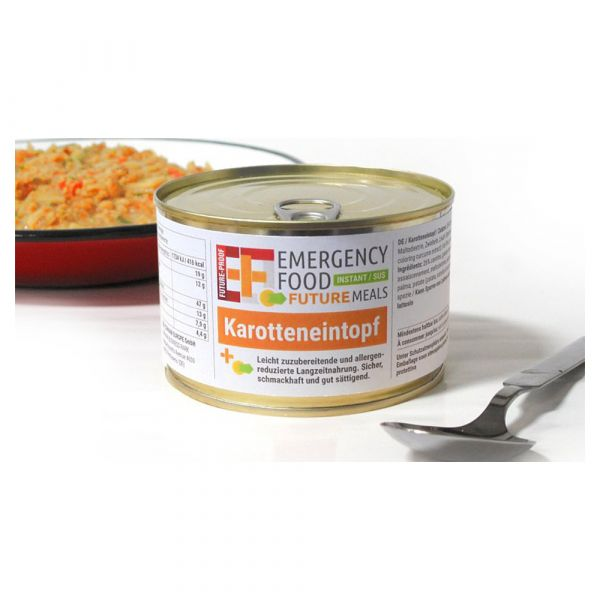 EF Emergency Food Karotteneintopf Dose