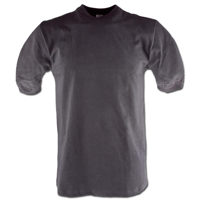 BW-Unterhemd TL schwarz