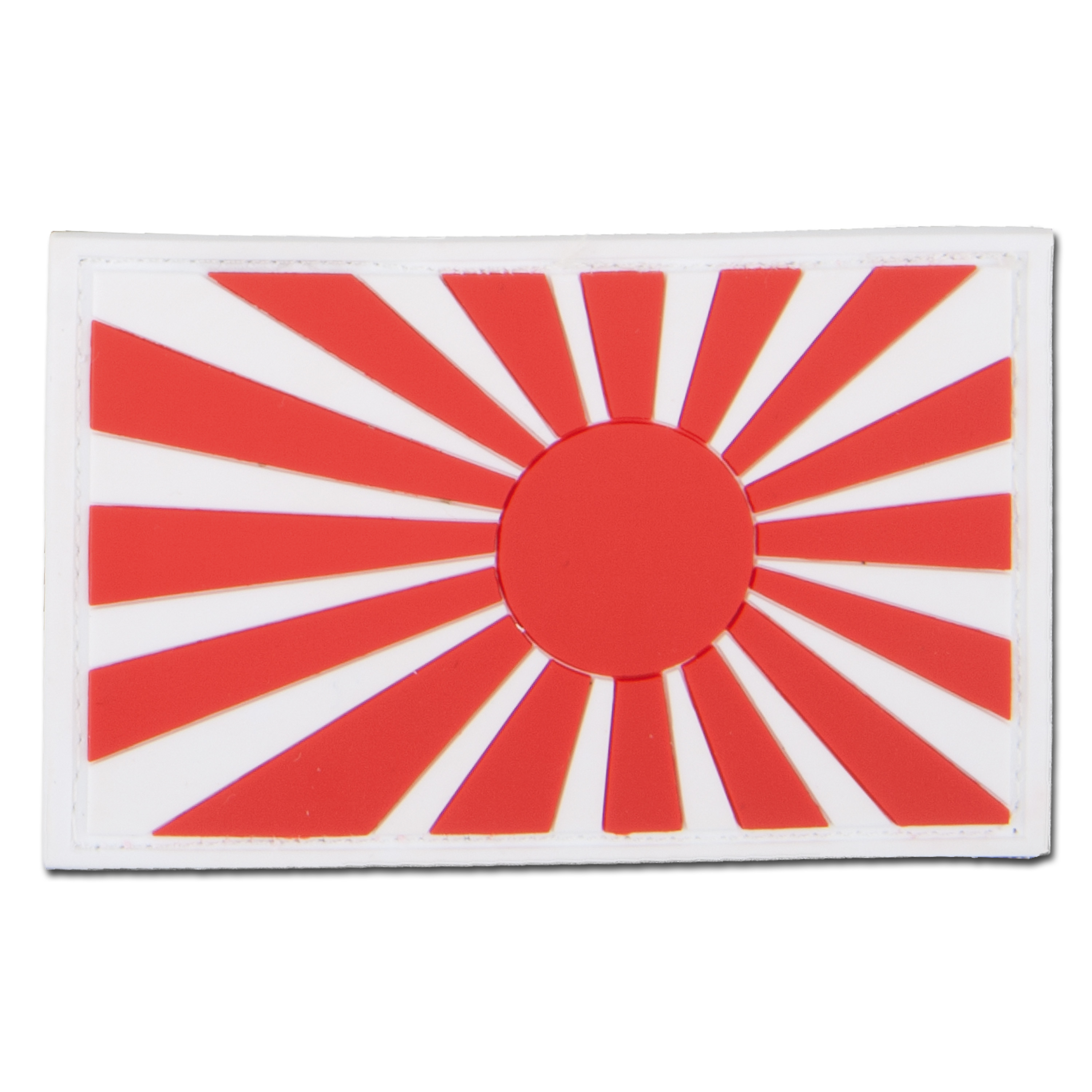 3D-Patch Kriegsflagge Japan bunt