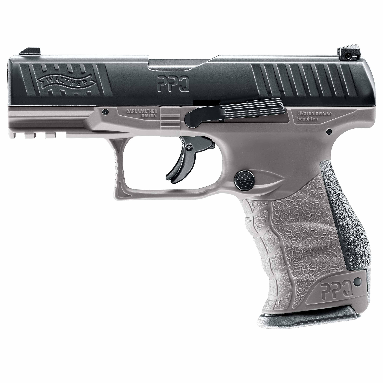 T4E Home Defense Walther PPQ M2 Co2 Kaliber .43 tungsten gray