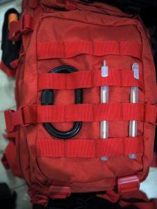 Passen perfekt zu dem Rucksack