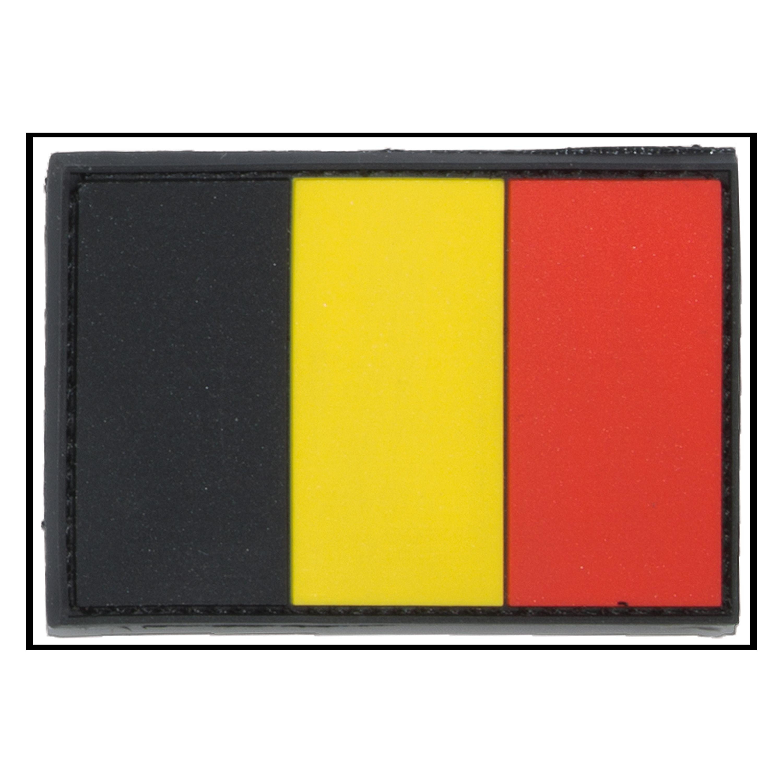 3D-Patch Flagge Belgien