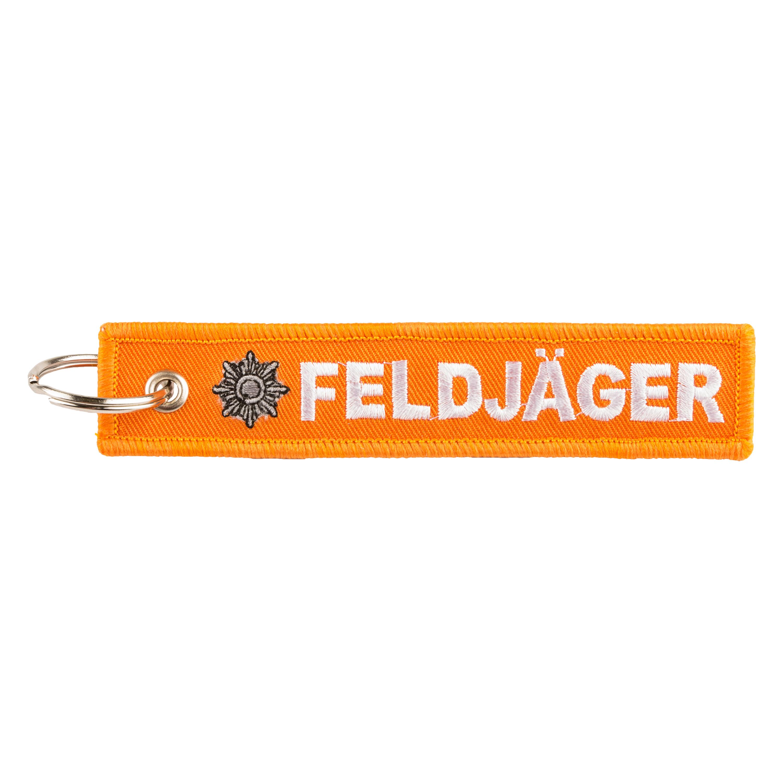 Schlüsselanhänger Feldjäger orange