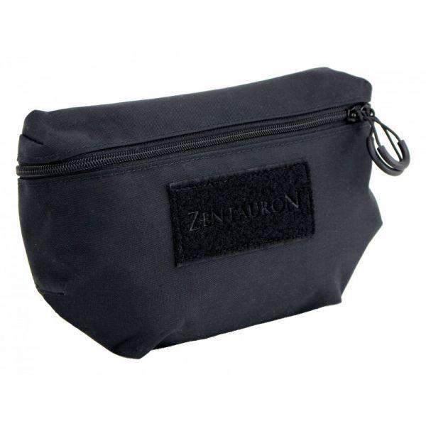 Zentauron Plattenträger Fronttasche schwarz