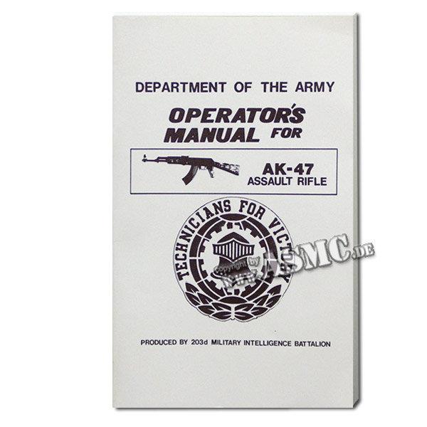 Buch Operators Manual AK-47