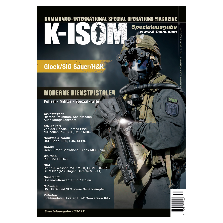 Kommando Magazin K-ISOM Spezial II/2017 Moderne Dienstpistolen