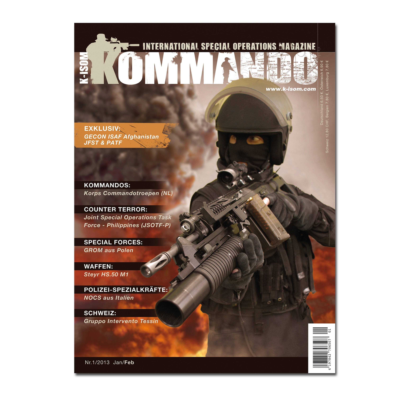Kommando Magazin K-ISOM Ausgabe 01-13