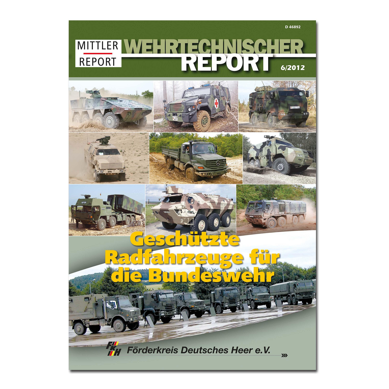 Broschüre Wehrtechnischer Report – Ausgabe Nr. 6/2012