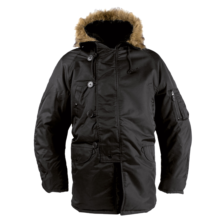 N3B Parka Style schwarz