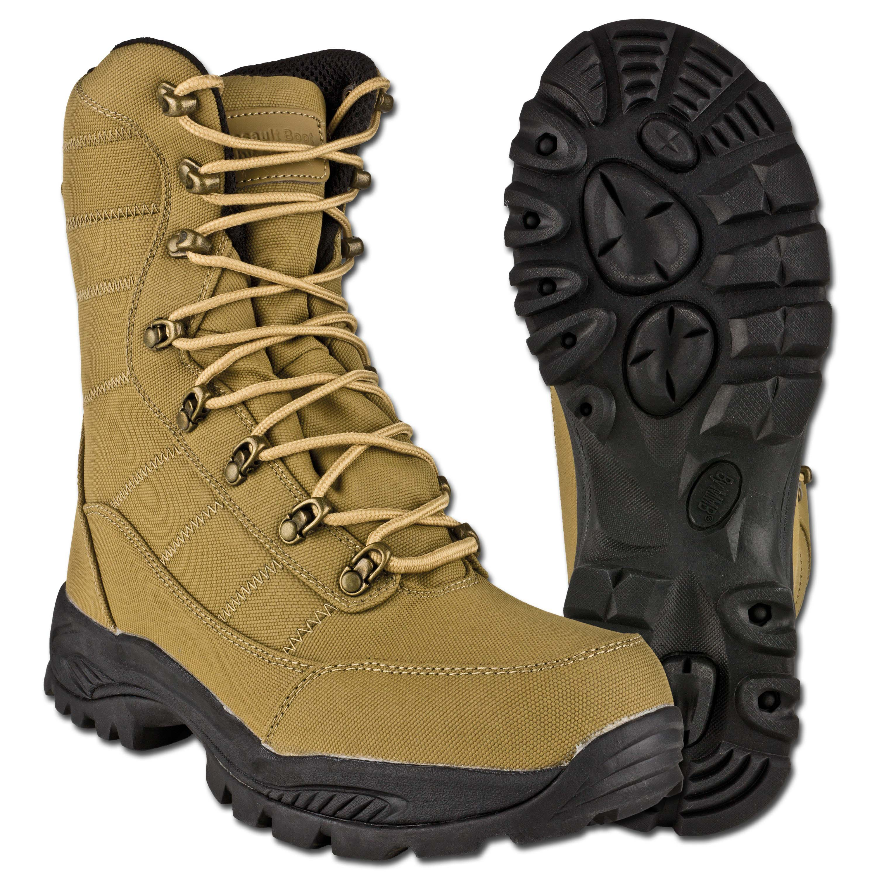 Stiefel MMB Assault Boot coyote