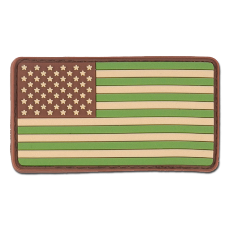 3D-Patch US Flag multicam