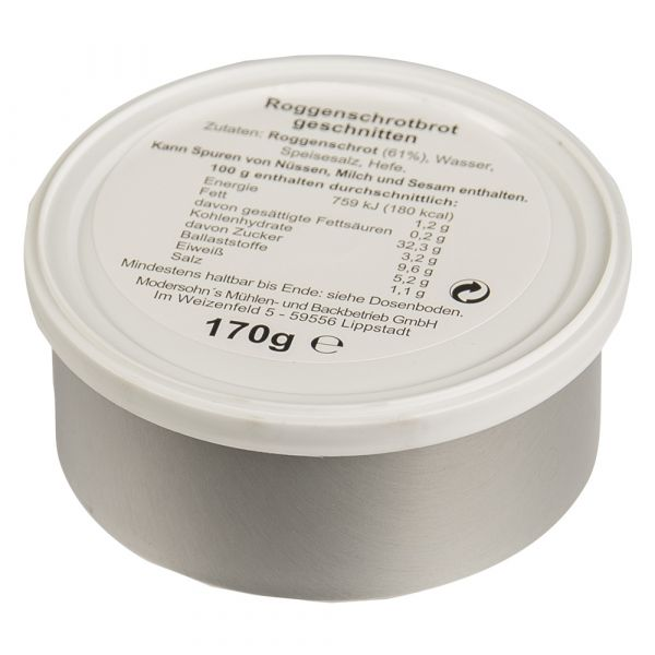 BW Dosenbrot geschnitten 170 g