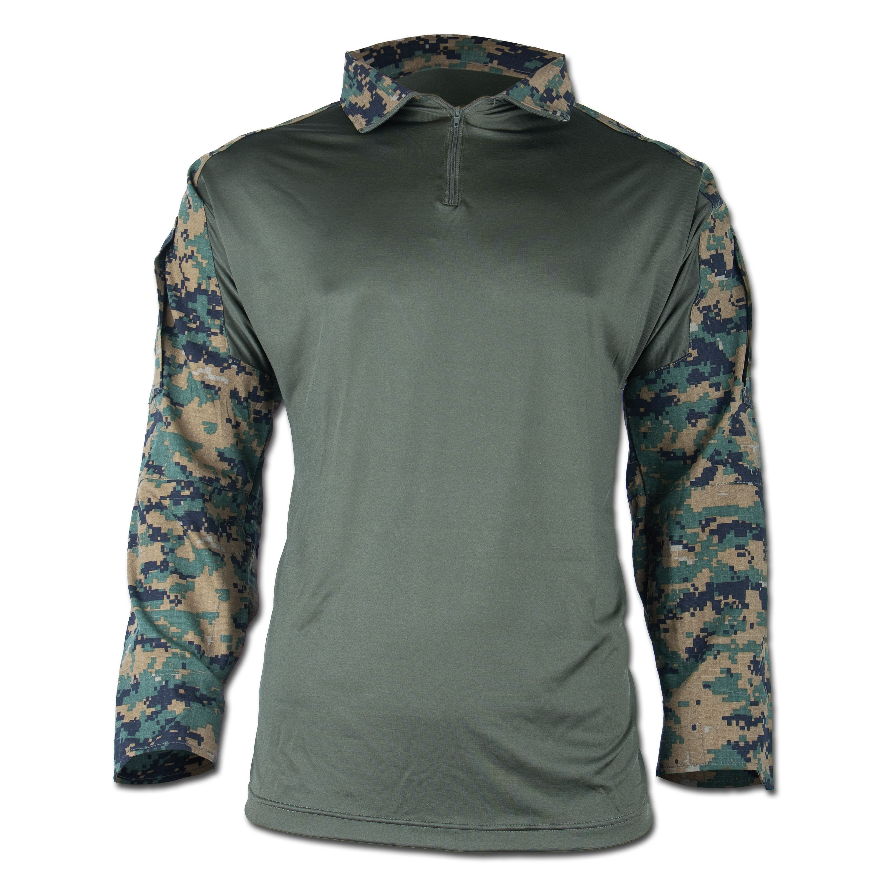 Tactical Hemd Warrior digital-woodland