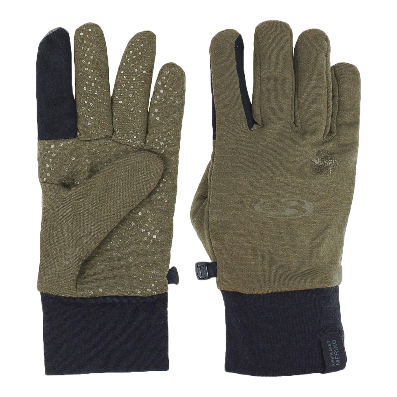 Icebreaker Sierra Gloves Merino 2.0 khaki