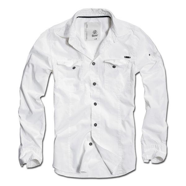 Brandit Shirt SlimFit weiß