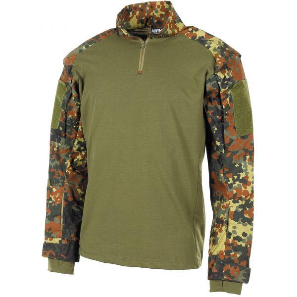 MFH US Langarmshirt Tactical flecktarn