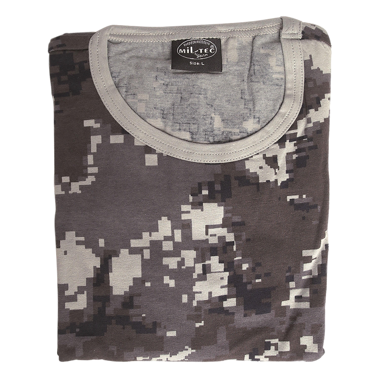 T-Shirt black digital