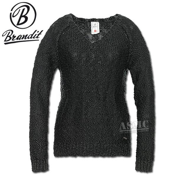 Samantha knitted Sweater Brandit schwarz