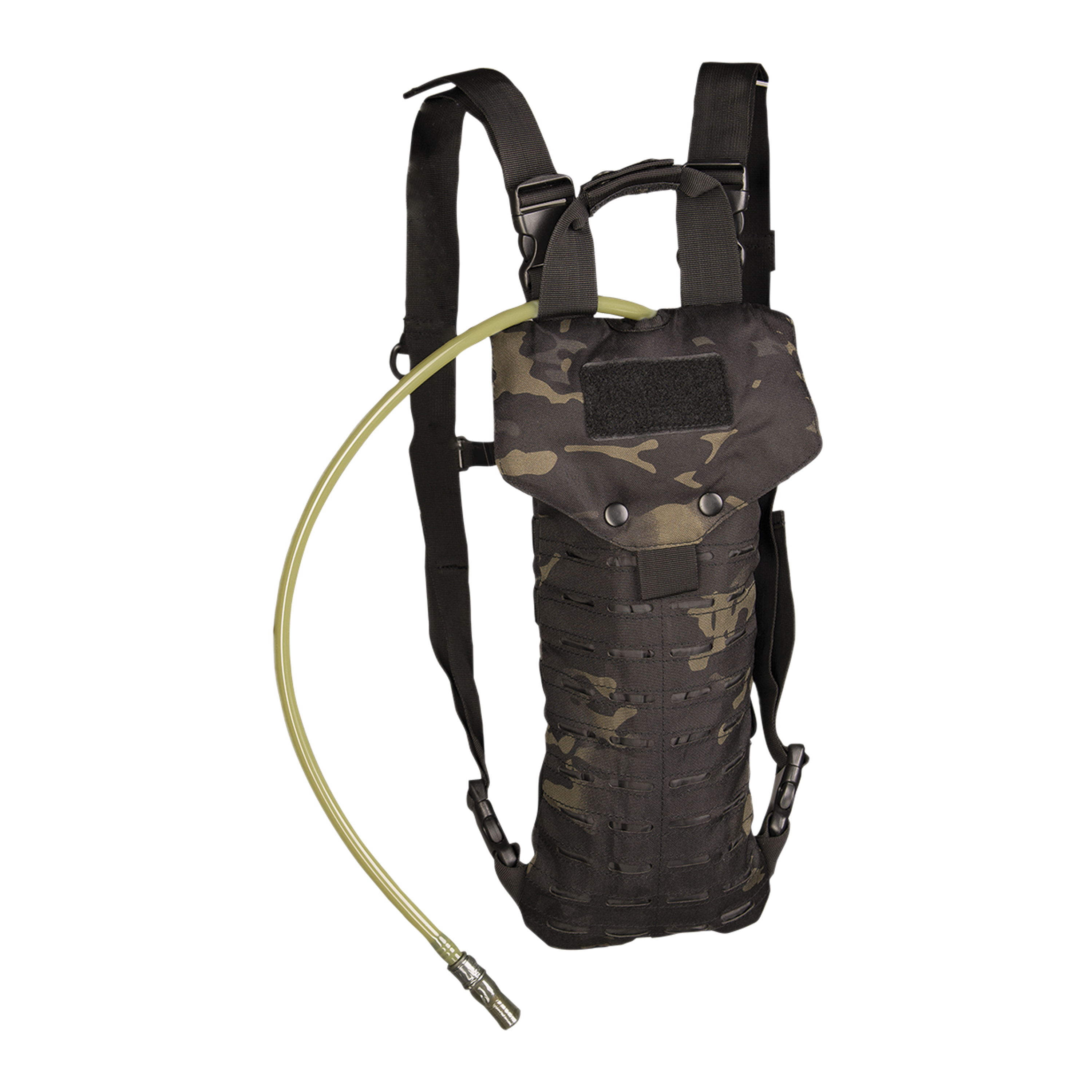 Rucksack Hydration Pack Laser Cut 2.5 L multitarn black