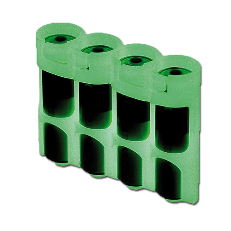 Batteriehalter Powerpax SlimLine 4 x AA nachleuchtend