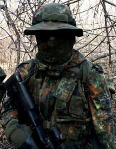 Kommando Tarnschal flecktarn
