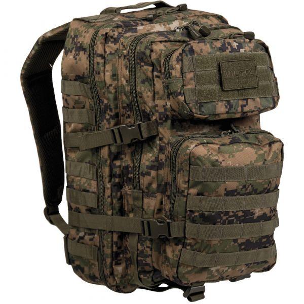 Mil-Tec Rucksack US Assault Pack II digital-woodland
