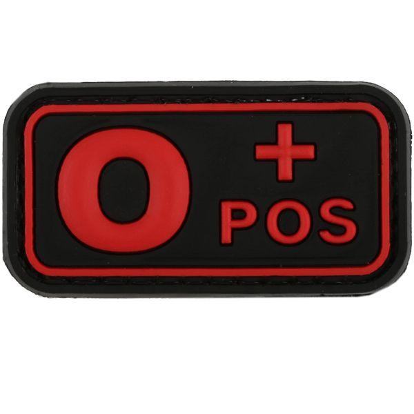TAP 3D Blutgruppenpatch 0 Pos blackmedic