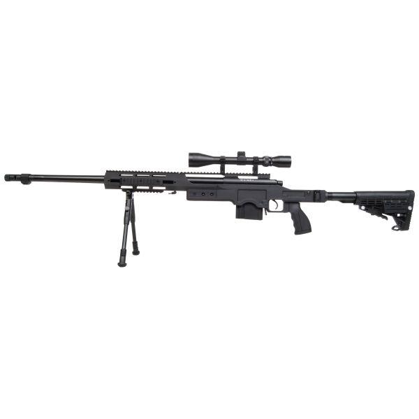 GSG Airsoft 4412 Sniper Federdruck 1.6 J schwarz