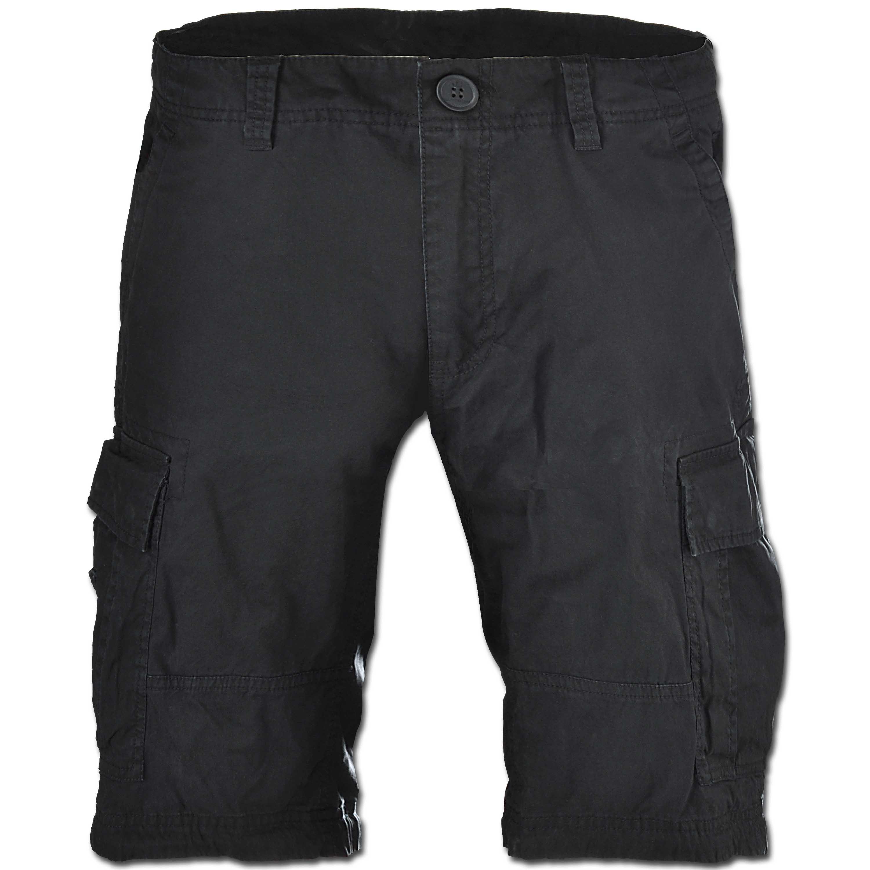 Shorts Vintage Industries Batten schwarz