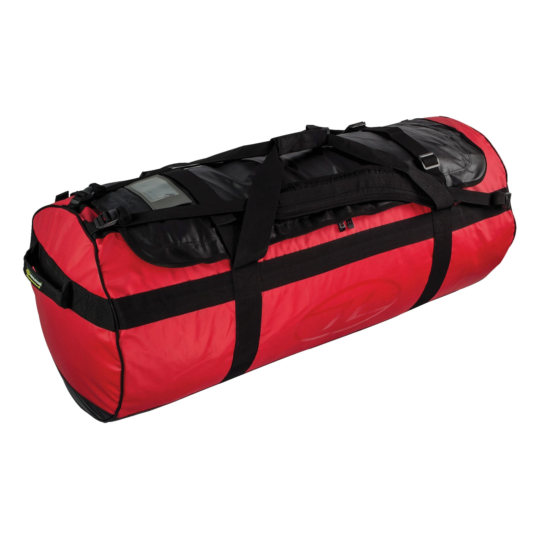 Highlander See/Packtasche spritzwassergeschützt rot 120L