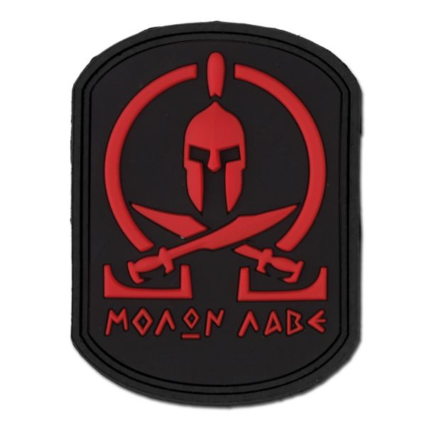 3D-Patch Molon Labe Spartan blackmedic