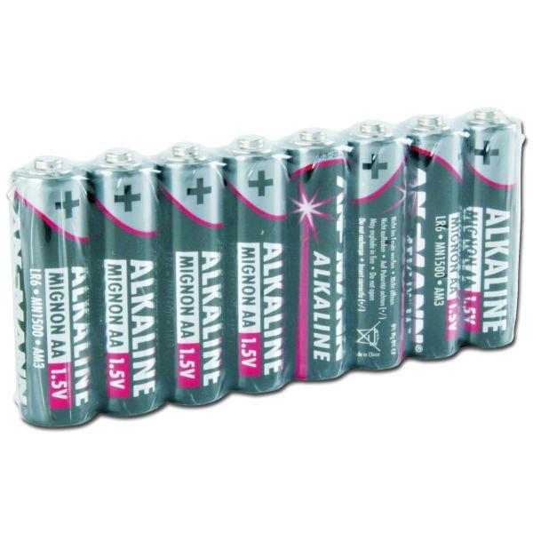 Batterie Ansmann Mignon AA Red-Line 8er-Pack