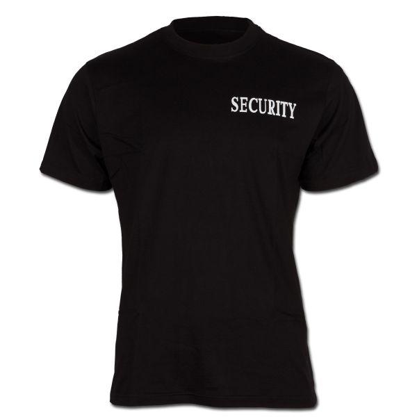 T-Shirt Security Brust-Rückendruck II