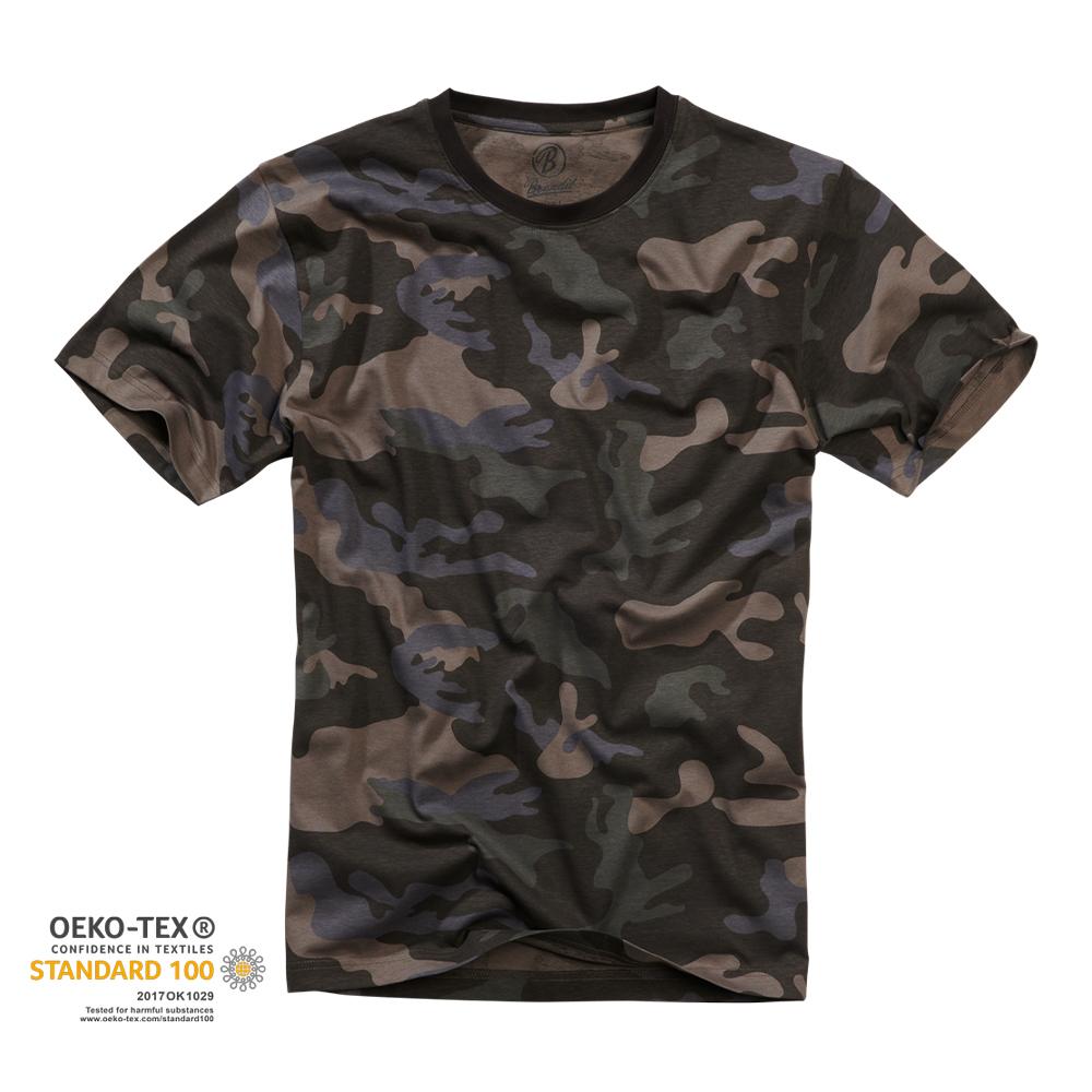 Brandit T-Shirt darkcamo