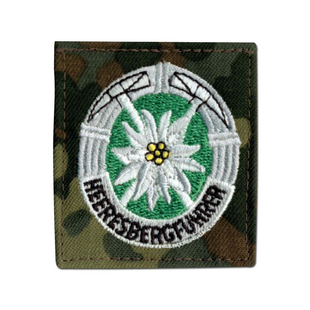 Abzeichen Bw Heeresbergführer flecktarn
