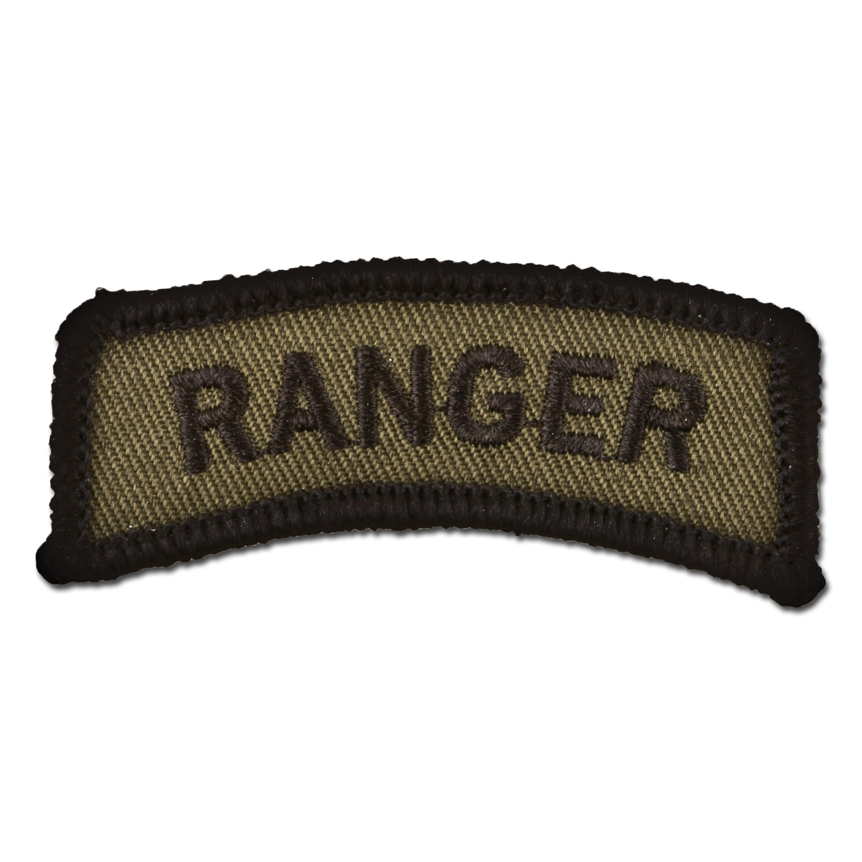 Armabzeichen Ranger oliv/schwarz