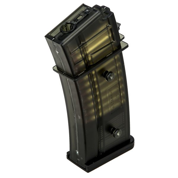 Ares Ersatzmagazin Airsoft HK G36 S-AEG Mid-Cap schwarz