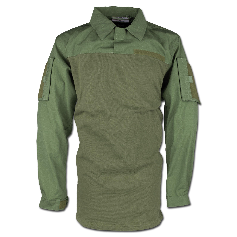 Leo Köhler Combat Shirt oliv