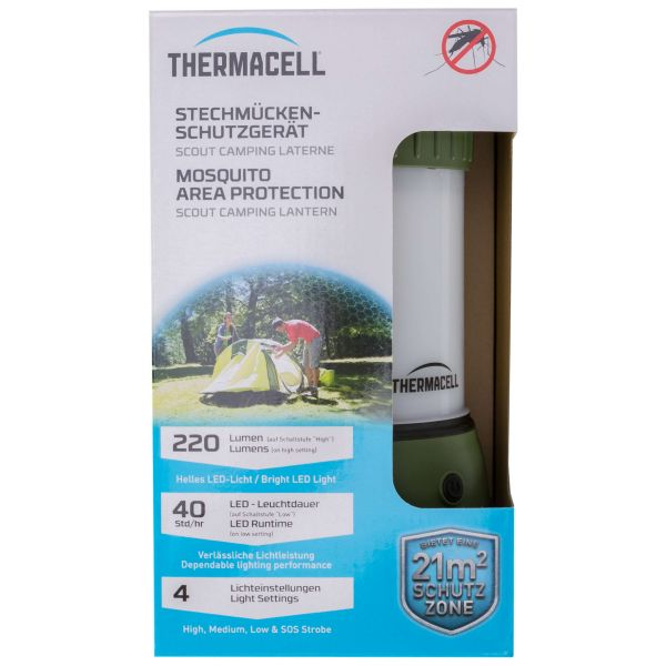 Thermacell Insektenschutz Scout-Laterne MR-CLC oliv